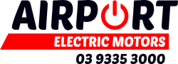 Electric Motor Repairs Melbourne | Airport Electric Motors Logo
